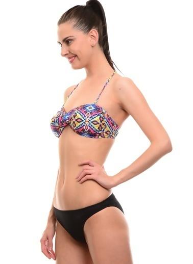 T-Box Bikini Üst Pembe